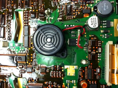 * volvo semi truck tractor speedometer dashboard buzzer ... buzzer wiring volvo door buzzer wiring diagram #1