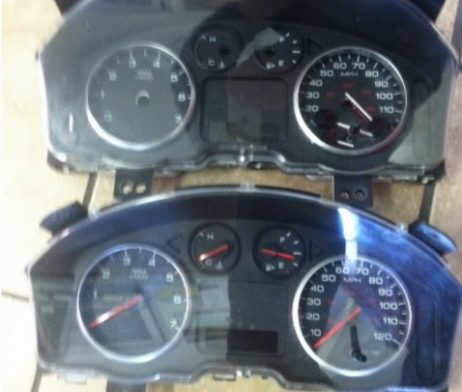 ford cluster